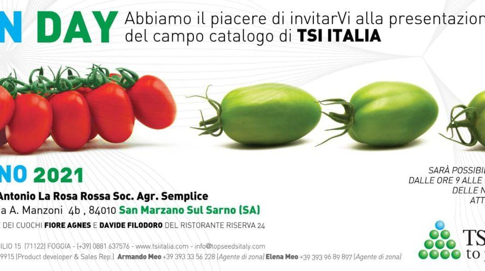 open day tsi top seed italia